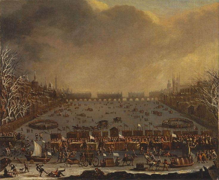 December 22, 1536 – The Thames Freezes in London