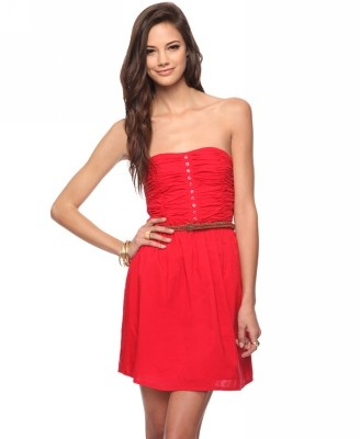 Casual Strapless Dress | FOREVER21 - 2015035865