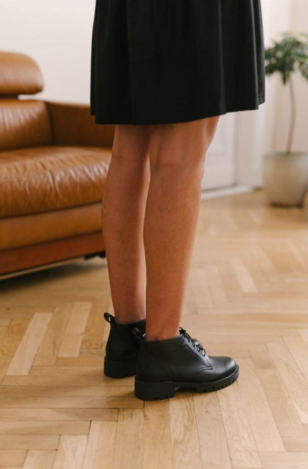 Wiazane Botki W Miejskim Stylu Womens Oxfords Oxford Shoes Shoes
