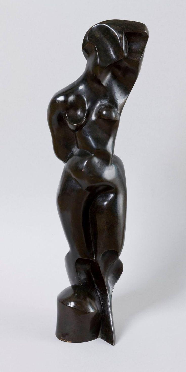 Standing nude by Katarzyna Kobro, 1948, Muzeum Narodowe w Krakowie (MNK)