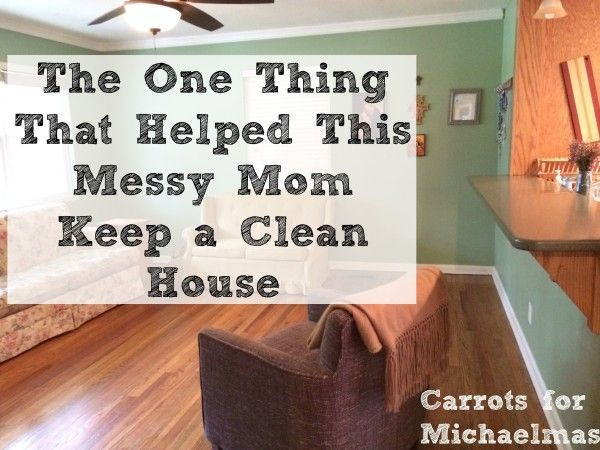 Messy House This Is The Simplest Tip To Keeping A Clean Ever Homemaking Pinterest And