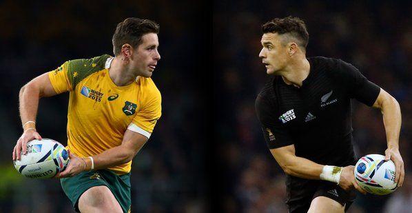 PERFECT 10 @bernardfoley v @DanCarter, #RWC2015's 4th & 5th leading points scorers - What a #RWCFinal duel! #NZLvAUS pic.twitter.com/qIXGZlwqrK