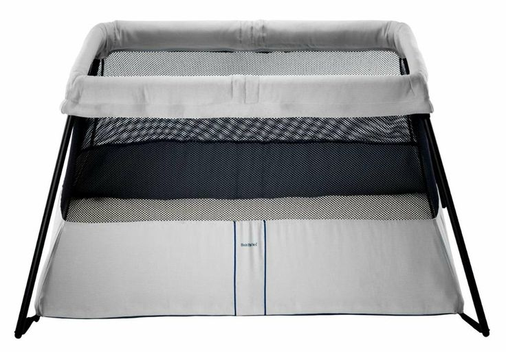 Baby Bjorn Travel Light Crib 2  Expensive, but lightweight and perfect for travel.  Register for 2 sheets for this as well.