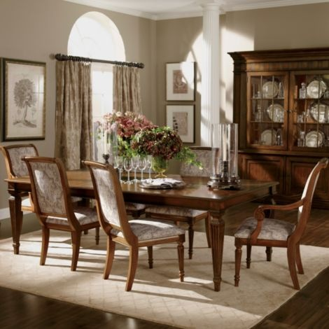 Dining room color scheme interior pinterest for Ethan allen dining room