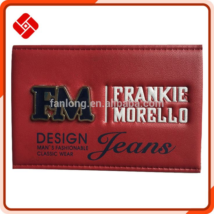 2015 The Most Popular Leather Patch Label For Jeans Photo, Detailed about 2015…