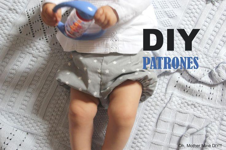 diy costura patrones gratis ropa bebe pantalon pantalones