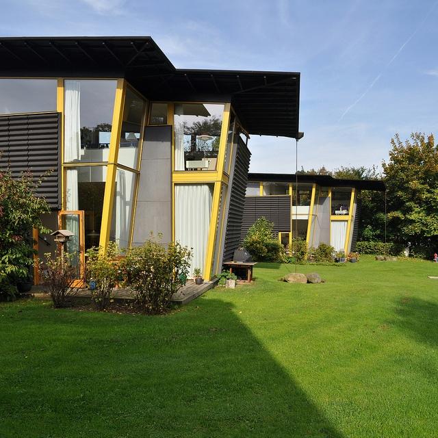 co-housing tegnestuen vandkunsten, birkerød søhuse housing, birkerød, copenhagen 1994-1995 | Flickr - Photo Sharing!