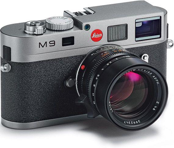 Leica , old school look new school tech