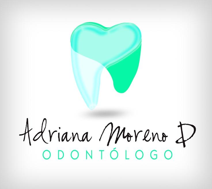 Logotipo personal para mi hermana Odontólogo Adriana Moreno