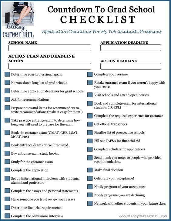 Best 25+ School checklist ideas on Pinterest Back to school - admission form school