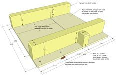 Small table saw sled plans 3 of 3