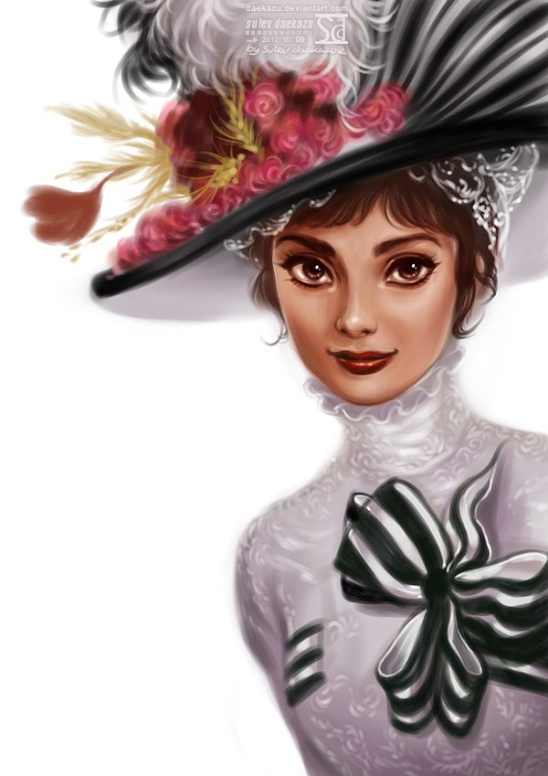 My Fair Audrey by daekazu on deviantART