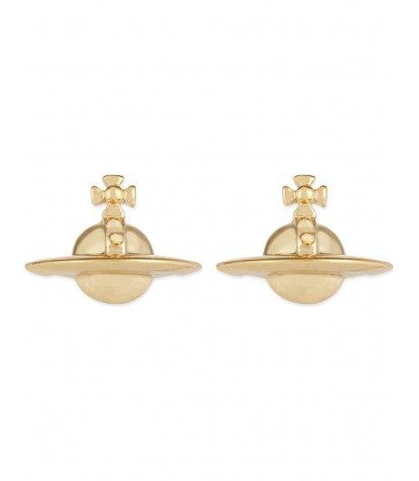 Vivienne Westwood Earrings Solid Orb Gold #giftideas #musthave   #earrings