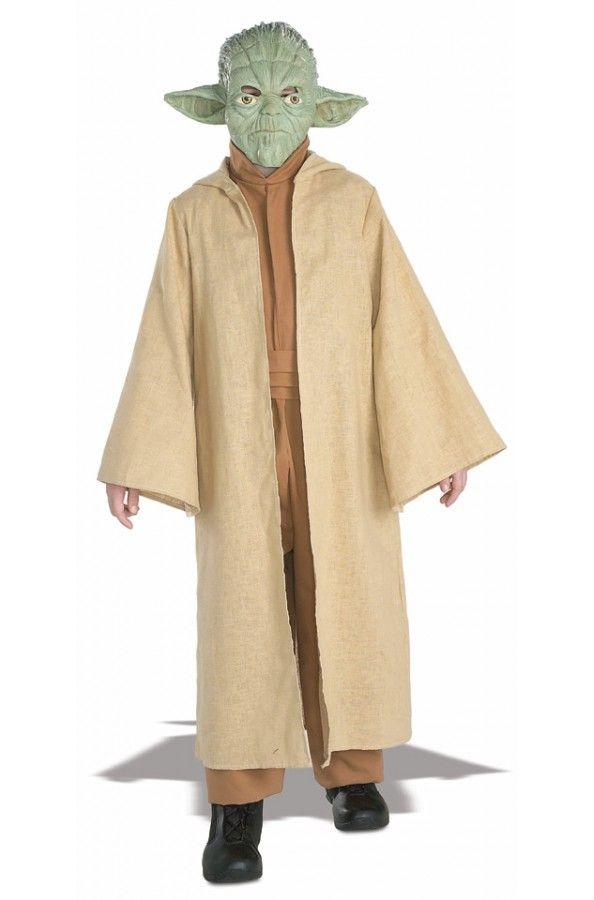 Купить Костюм Мастер Йода (Звездные войны) детский r882164 для мальчика 3-7 лет в интернет магазине My-Karnaval.ru