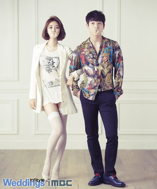 Jinwoon & Go Junhee (Jinhee) | We Got Married | Pinterest ...