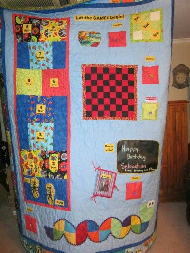 Game quilt