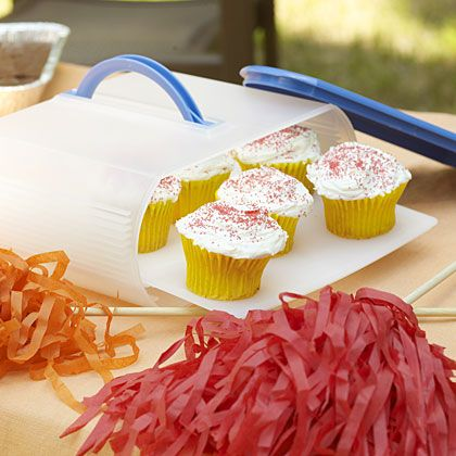 Sweet Victory: Tailgating Desserts    Our crowd-pleasing tailgate desserts can be made ahead, are easy to transport, and don't require forks or refrigeration.
