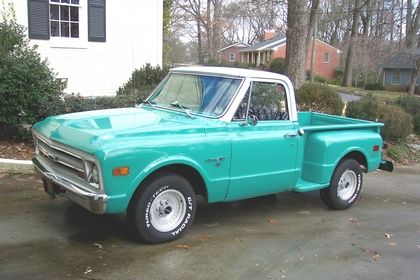 1968 Chevy C10 - Chevrolet - Chevy Trucks for Sale   Old Trucks, Antique Trucks & Vintage Trucks For Sale   Classic Truck Central
