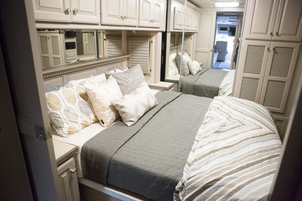 Beautiful RV Makeover (2)this site has dozens of remodeled/ makeovers of older mobile homes. From Florida to malibu