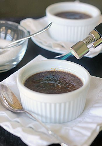 Chocolate Espresso Crème Brulee | Sweets | Pinterest
