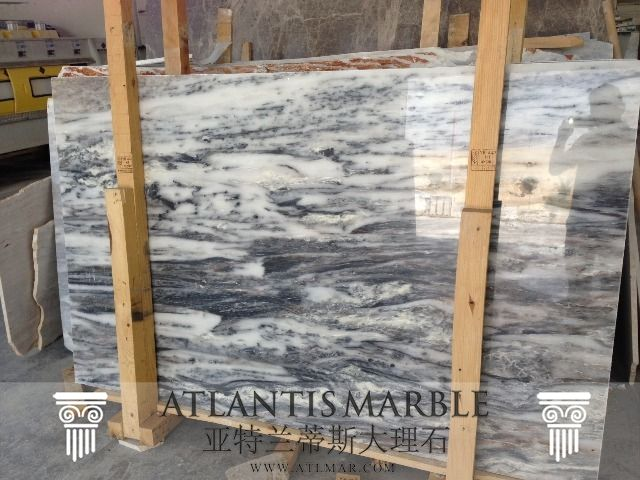 Turkish Marble Block & Slab Export / DREAM BLUE Marble   http://www.atlmar.com/product/309-turkish-marble-dream-blue-slab.html