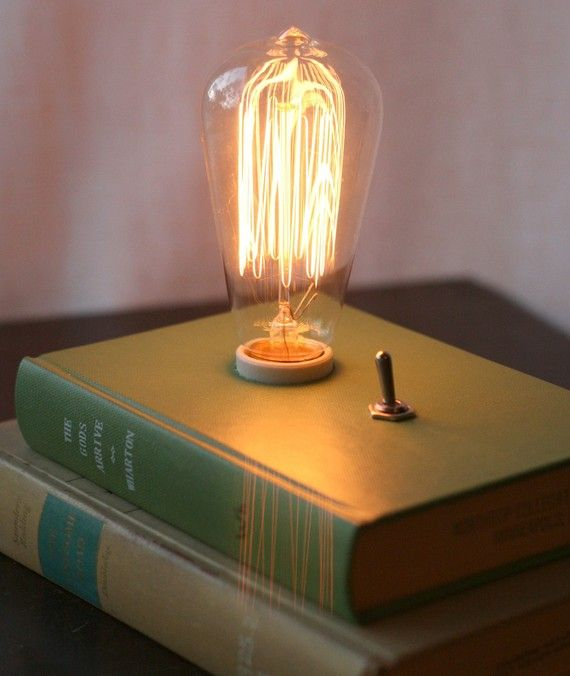 Best Book Lamp Steampunk Thing Ever Funky Products