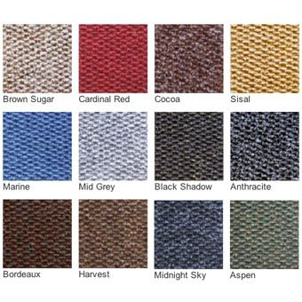 Carpet Squares | Diagonal ribbed carpet squares | Greatmats