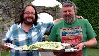 """Roast Chicken with Morel Sauce from """"The Hairy Bikers"""" (I am guessing they're some cooking dudes from the BBC?)."""