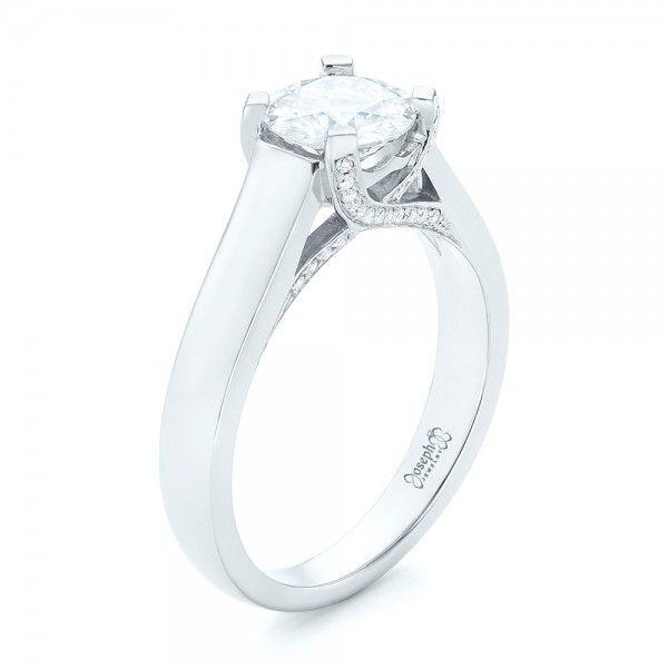 Spectacular Custom Diamond Engagement Ring