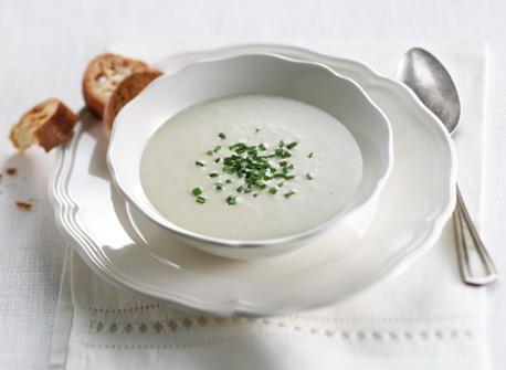 Crème vichyssoise classique recette | Plaisirs laitiers