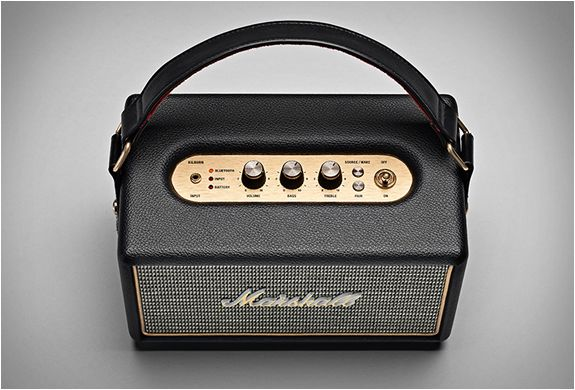"Marshall's ""Kilburn"" Portable Speaker"