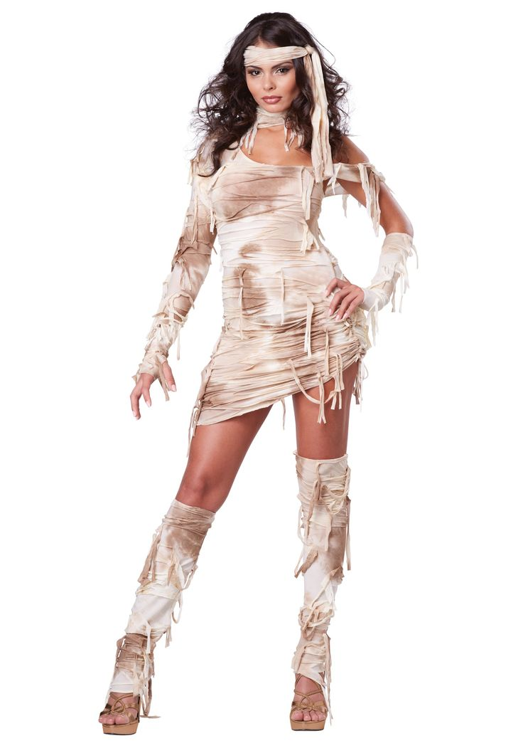 Prepare for your afterlife in this Mystical Mummy Costume! You can become a mummy in far less than the 70 days it took the Egyptians to make one.