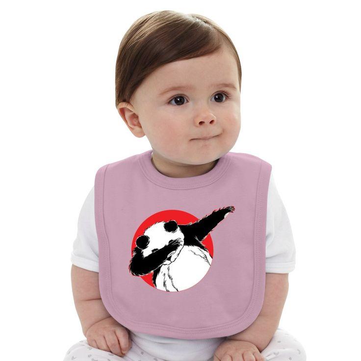 Panda Dab Baby Bib