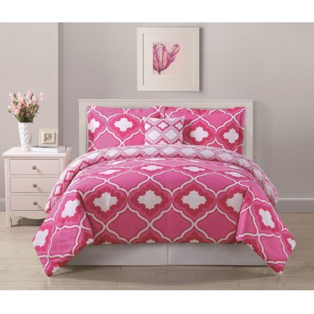 17 Best Ideas About Pink Comforter On Pinterest