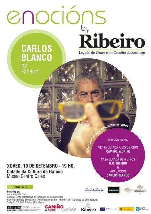 Los vinos DO Ribeiro y Carlos Blanco se alían en la tercera cita de Enocións by Ribeiro, en la Ciudad da Cultura de Galicia