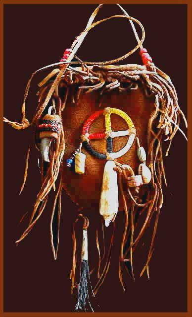 plains indian medicine pouch