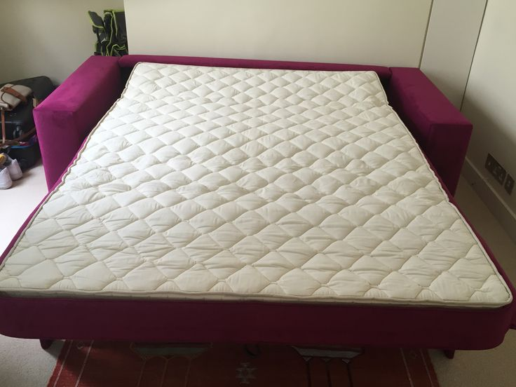 Replacement mattress for travel trailer