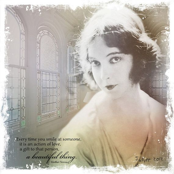 The ingenue woman  Vintage photography Stretched by Jullyet, $85.00