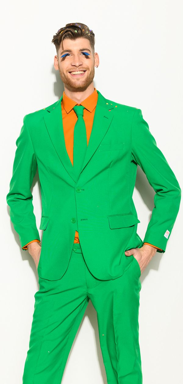 4281b28446882d Green suit for men with the suit from OppoSuits. | mardi gras in ...
