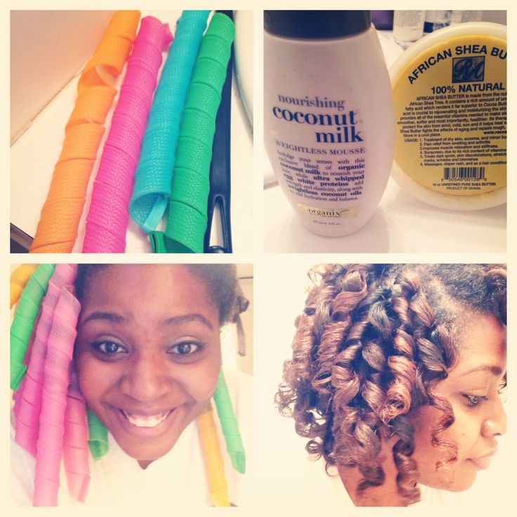 Curl formers process! @Jasmine Ann {The Gluten Free Scallywag} Taylor  you should try this on your hair!!