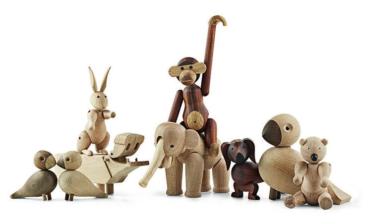 The Wooden Figure Collection  Danish Interior Design Budapest