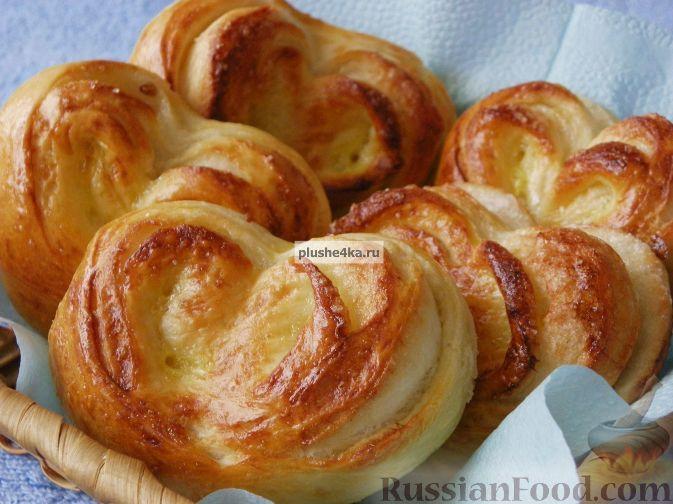 Фото приготовления рецепта: Домашние плюшки - шаг №13