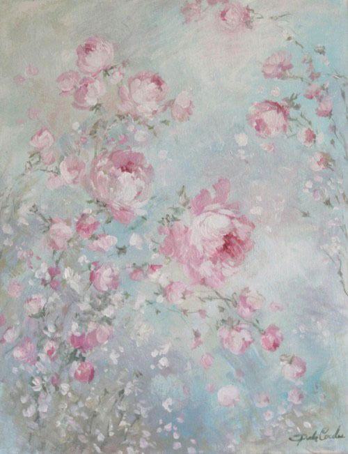 Pink Whisper - Debi Coules Romantic Art