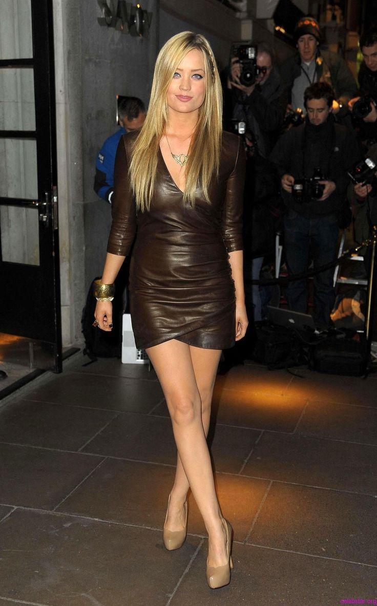 Laura Whitmore pelo estilo Red Carpet Dress estilo