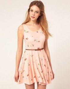 Vestidos rosas floreados 4                                                                                                                                                                                 Más