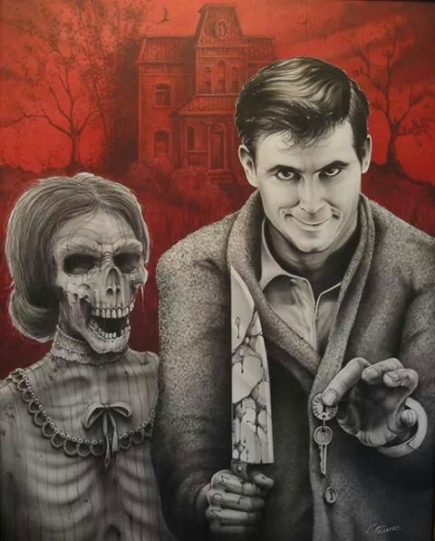 Norman Bates & Mother