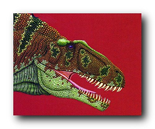 Bring home this wonderful dinosaur fine art picture art print poster which will reflects the ultimate definition of excellence. This wonderful wall art will be a perfect addition for your home decor especially for your kid's bedroom. This poster will definitely bring wild charm into your home. The beautiful color combination of this charming poster makes it must buy! Discover the uniqueness of this poster and Order today for its durable quality and excellent color accuracy.
