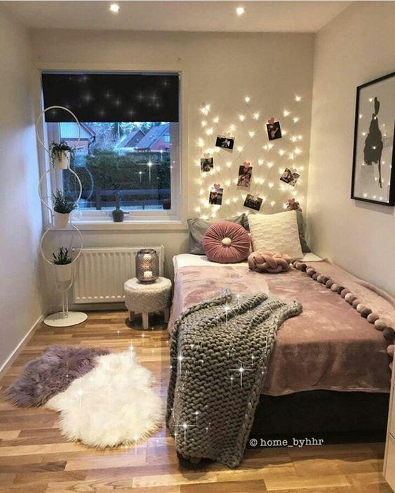 Genius Lighting Ideas For Girls Bedroom Home Decor Slaapkamerideeën Slaapkamerdecoratieideeën Kamerinrichting
