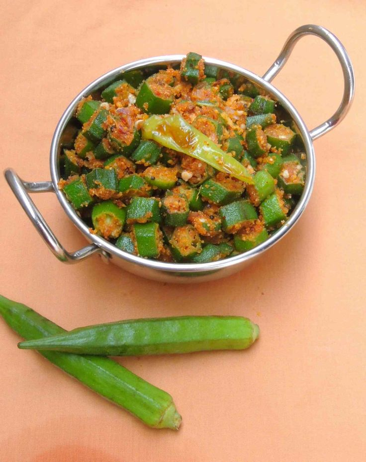 Vendaikkai Podi Curry is a South Indian dish which is made with lady fingers and spiced dal powder and can be served as side dish with your meal.