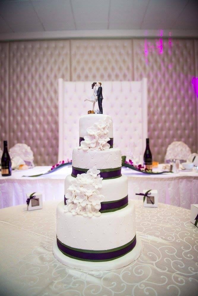 Mireille and JK's wedding cake <3